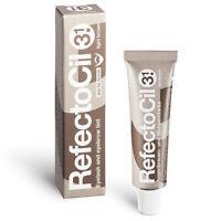(33,00 € / 100ml) RefectoCil Augenbrauenfarbe und Wimpernfarbe 15 ml Lichtbraun