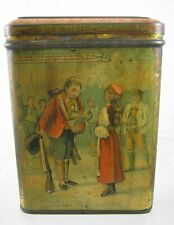 More details for antique 1862 carr & co ltd  biscuit tin - the ice maiden - hans andersen