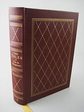 TALES Guy de Maupassant EASTON PRESS Illustrated Fiction Classic STORIES Leather