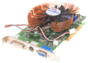 NVIDIA GEFORCE FX 5600 AGP 256MB DDR AS5600-256P GRAPHICS CARD