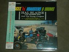 "Hal Blaine Deuces, ""T's,"" Roadsters & Drums Japan Mini LP Bonus Tracks sealed"