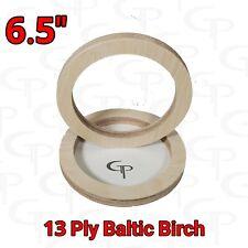 6.5 inch Speaker Rings Baltic Birch GP Car Audio Mounting Spacer