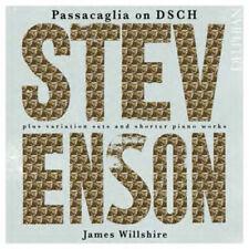 James Willshire : Stevenson: Passacaglia On DSCH... CD (2013) ***NEW***