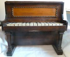 Antique TOY PIANO Wood All Keys Work