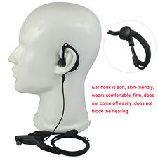 G-shape Mic Earpiece Headset for Motorola Radios XPR6100 DP4600 XPR6550 DP4400