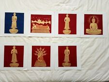 Art Silk Screen Picture Wall Home Decor Handmade Gift Buddha #20