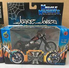 NIB 2003 Jessie James Muscle Machine Cherry CFL Black 1:18 West Coast Choppers