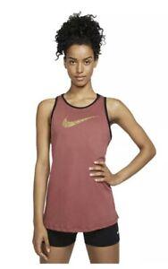 Nike Women's CI7456-661 Dri Fit Training Tank Top Size Medium