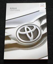 buy toyota rav4 2014 car owner operator manuals ebay rh ebay co uk 2012 rav4 owners manual pdf 2012 rav4 owners manual pdf