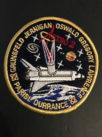 "Vintage NASA Original Astro 2 STS-67 4"" Embroidered Sew On Collector Space Patch"