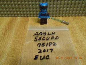 Lego Star Wars Aayla Secura Minifigure (75182) Authentic Lego EUC