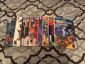DC Detective Comics # 1000 11 COVER SET - Reg,Midnight & 9 Decades Signed Baron