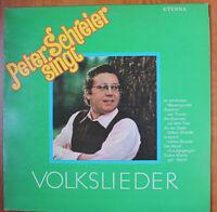 Vinyl Schallplatte Peter Schreier singt Volkslieder