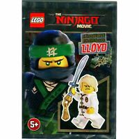 LEGO NINJAGO Lloyd Foil Set Minifigure White Wu-Cru Training Gi Polybag New