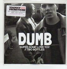 (ER538) Dumb, Super Sonic Love Toy / Two Bottles - 2013 DJ CD