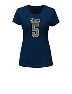 NFL La Rams Nick Foles 5  Women's Her Highlight Player Program short sleeve Deep