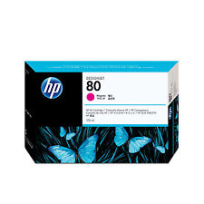 original HP C4874A magenta Tinte 80 Designjet 1000 1050c 1055cm  MHD abgelaufen