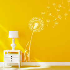 Flower Dandelion Vinyl Wall Art Sticker Mular Home Bedroom Decoration