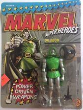 1990 Marvel Super Heroes, DR. DOOM action figure **UNPUNCHED** MOC