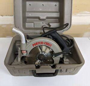"Porter Cable Model 743 7 1/4"" Heavy Duty Circular Saw  w/Case"