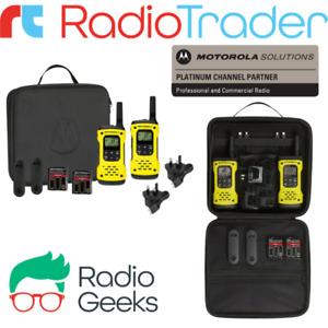 Motorola TLKR T92 H2O Quad Pack Licence Free Waterproof Walkie Talkies IP67