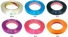 Much-More Color Strapping Tape (Black) 50m x 17mm - CS-TK