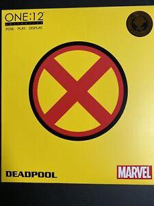 Mezco Toyz 2017 SDCC Exclusive One:12 'Deadpool X-Men Variant-used Complete