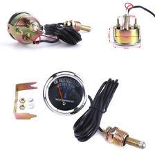 "52MM 2"" 12V Car Clear Lens Mechanical Water Temperature Gauge Meter Light Sensor"