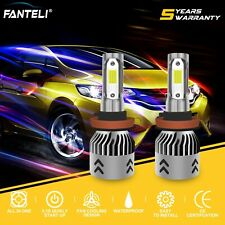 H8 H9 H11 6000K White 1850W 277500LM CREE LED Fog Driving Lights Foglights Kit