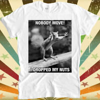 Details about  /Animal Crossing Squirrel Agent S Funny Women Junior Girl V-Neck Graphics T-Shirt