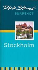 Rick Steves Snapshot Stockholm (Sweden) *FREE SHIPPING - NEW*