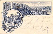 Heidelberg, Vorläufer AK, 1895