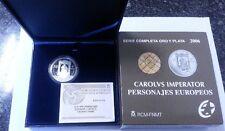 Año 2006. 10 EUROS PLATA. ESPAÑA. Personajes Europeos – CARLOS V. EMPERADOR.