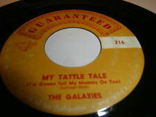 "the galaxies( eddie cochran/guitare et chant).single.7""or.usa.guaranteed:216."