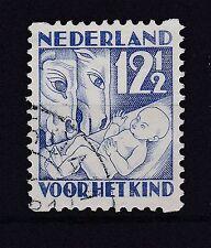 Niederlande 1930 gestempelt MiNr. 239D  Voor het Kind: Jahreszeiten Winter