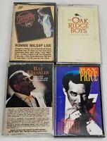 Milsap Charles Price Oak Ridge Lot of 4 Cassette tapes