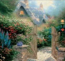 Thomas Kincaide Puzzle Painter of Light Hidden Cottage II 550 Pieces NEW