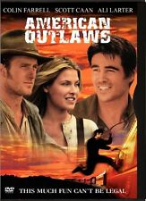 AMERICAN OUTLAWS New Sealed DVD Colin Farrell