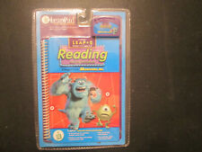LeapFrog Pad Interactive Book and Cartridge Monster Inc Leap 2