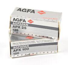 AGFAPAN APX 100 120 Professional film