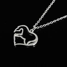 Animal Horse Zinc Alloy Link Chain Pendant Necklace for Men or Women Pop