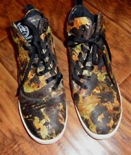 GOURMET FOOTWEAR   CAMO sz 10  SNEAKERS HIGH FASHION SHOES