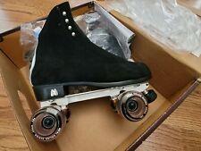 Moxi Black Jack Skate Package - Neo Plate Pink Frost Wheel Medium Size 10 1/2