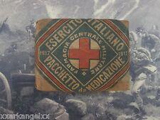 Original WW 1. Italian first aid bandage, Prima Guerra Mondiale Una medicazione