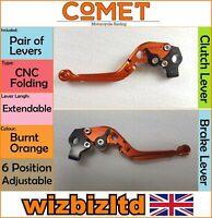 Ducati Monster 750 Ie 1994-2002 [Pliable Extensible Orange] [ Comet Race Levier]