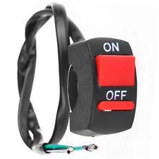 Guidon moto Switch on-off bouton LED Angel Eye Light Meilleur