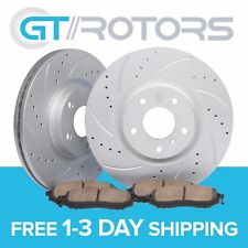Front Brake Disc Rotors & Ceramic Pads for Camry 97-01 Solara 99-03 Avalon 98-04