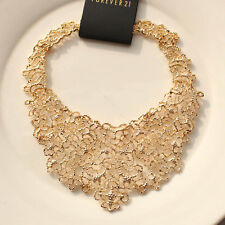 """New 16"""" Forever21 Collar Statement Necklace Gift Fashion Women Party Jewelry FS"""