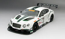 True Scale Bentley GT3 #08 Dyson Racing - Sonoma GP 3rd Place 2014 1/18