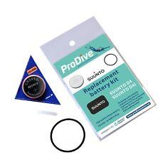 SUUNTO D4 D4i Battery Kit Free Grease
